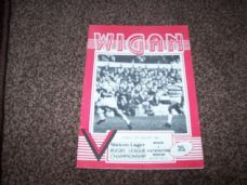 Wigan v Featherstone Rovers, 1984/85